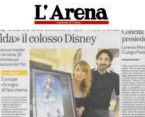 l'arena, il giornale di verona