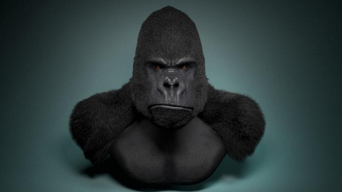 gorilla busto
