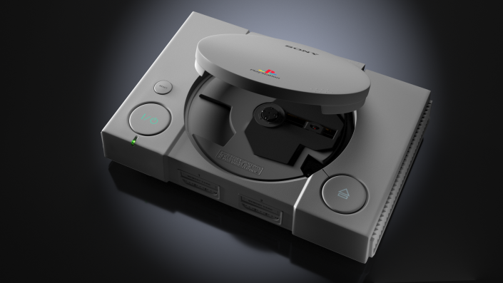 playstation sony 3D render