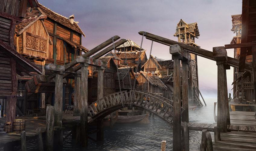 dragons empire render