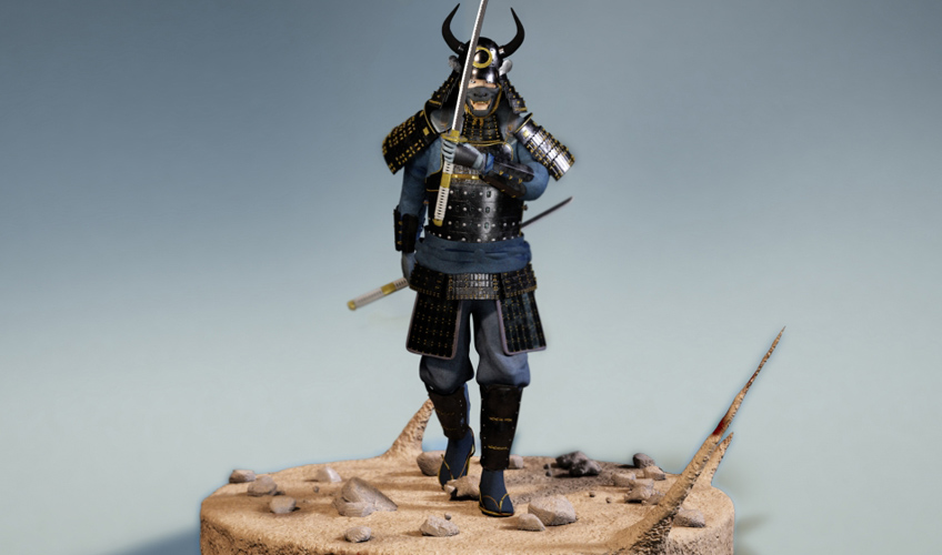 samurai render