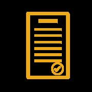 Icona certificato